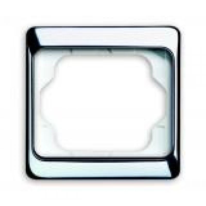 busch jaeger abdeckrahmen 1 fach 1721 ka 263 chroma 4 80. Black Bedroom Furniture Sets. Home Design Ideas