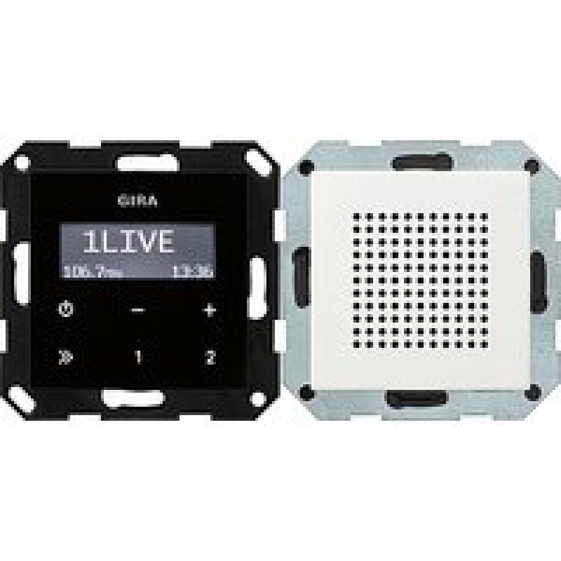 gira 228003 unterputz radio rds system 55 124 60. Black Bedroom Furniture Sets. Home Design Ideas