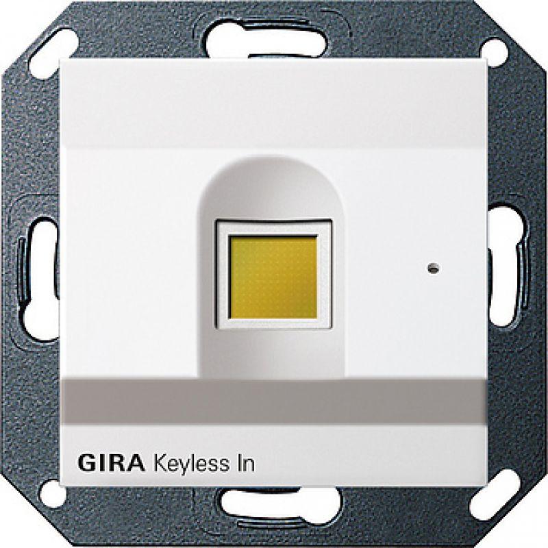 gira 260703 keyless in fingerprint system 55 reinweiss 519 99 euro. Black Bedroom Furniture Sets. Home Design Ideas