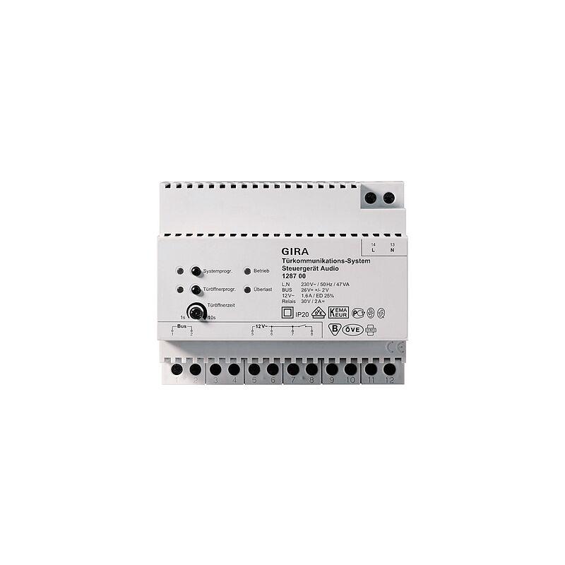 GIRA 128700 Steuergerät Audio / Netzgerät 2-Draht Bus Techn