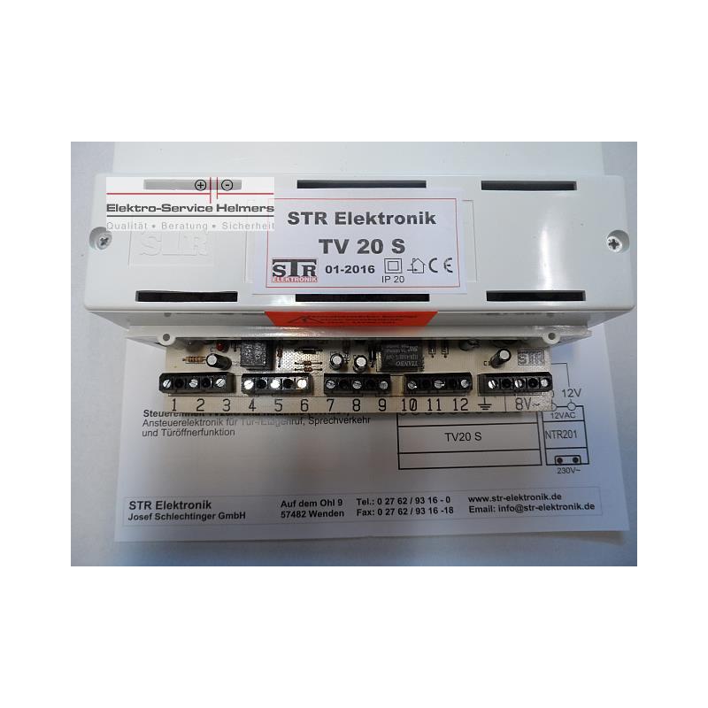 STR 20360 Zentralverstärker TV 20/S Automatik-Anlage mit Gong-
