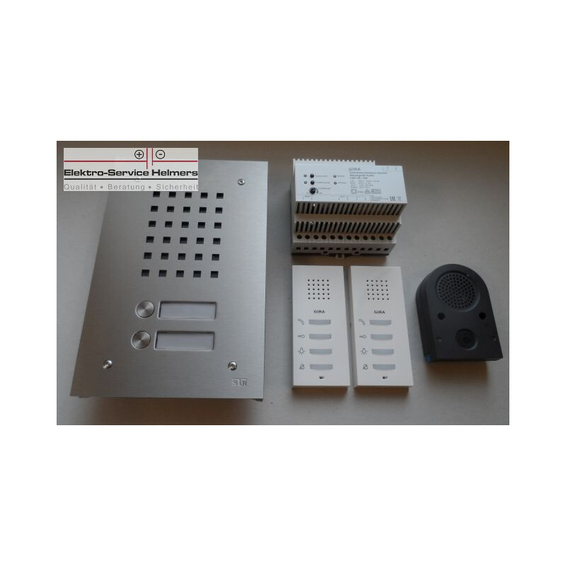 gira audio system 2 draht bus technik 2 familienhaus. Black Bedroom Furniture Sets. Home Design Ideas
