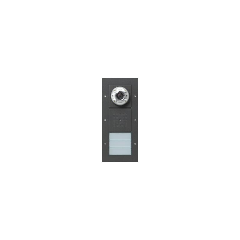 gira 127067 video auf putz t rstation. Black Bedroom Furniture Sets. Home Design Ideas